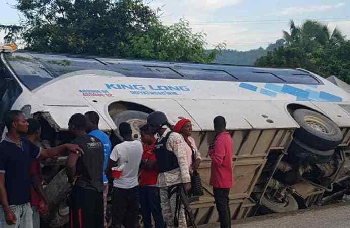 Accident de circulation à Mirebalais: 7 morts, plusieurs blessés graves