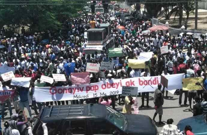 Gonaïves: Les citoyens disent NON à l'insécurité