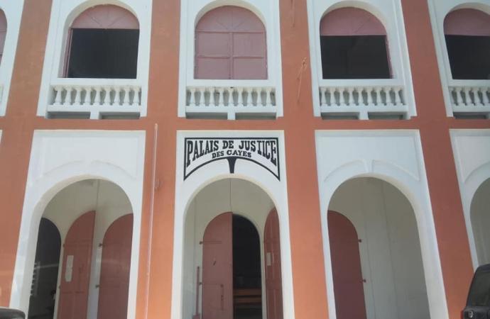 Le palais de justice des Cayes quasi-dysfonctionnel