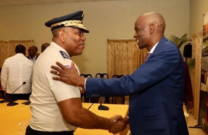 Vers la reprise des activités, Jovenel Moise rencontre le haut état-major de la PNH