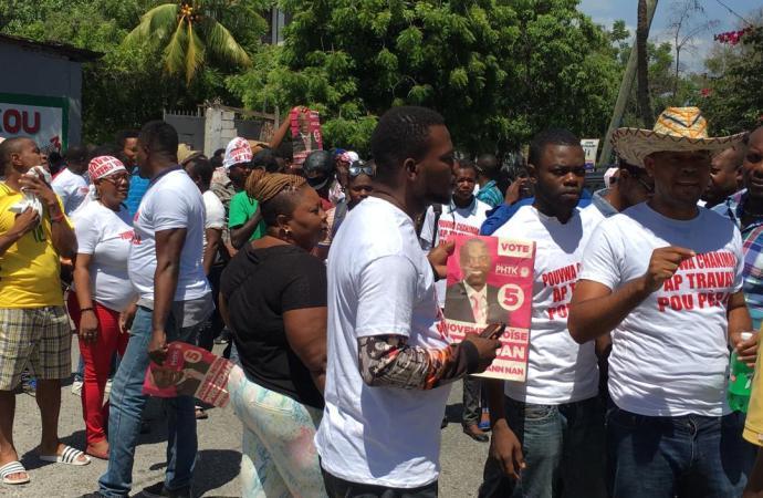 La manifestation du PHTK et alliés annulée à la demande de Jovenel Moïse