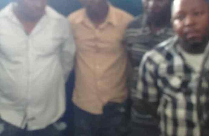 4 individus arrêtés par des agents de la PNH à Cité Soleil