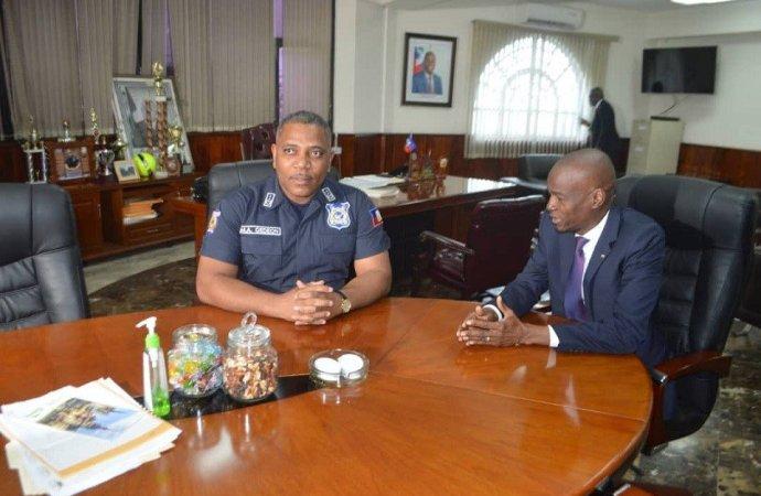 Arrestation d'Arnel Joseph: Jovenel Moïse salue le travail de PNH