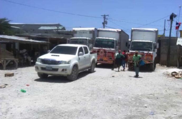 Le point frontalier Malpasse/Jimani bloqué depuis une semaine