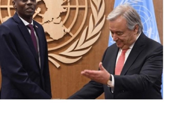 Assemblée générale de l'ONU: Jovenel Moïse annule son voyage