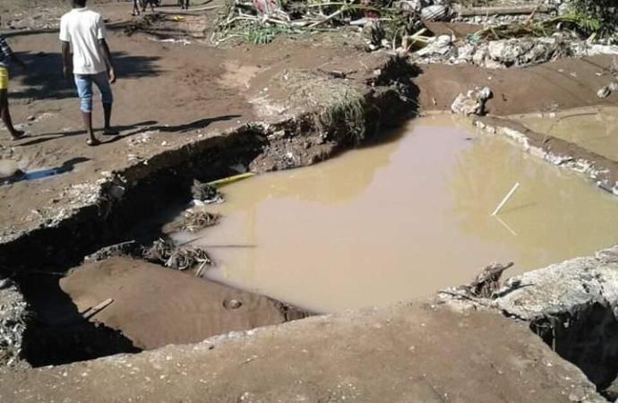 Inondations à Ganthier et Petit-Goave: 2 morts, des centaines de maisons inondées, selon la DPC