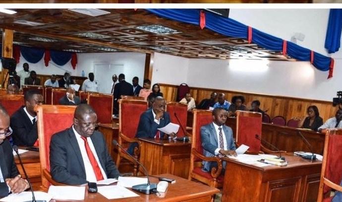 Au Sénat la commission devant analyser les pièces de Fritz William Michel est constituée