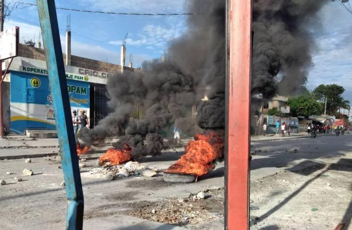 Situation explosive dans commune de Carrefour