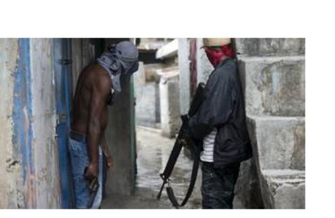 Sur la route nationale # 8, des gangs armés se travestissent en militants