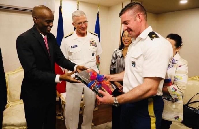 USNS Comfort: Jovenel Moïse remercie les Etats-Unis pour son appui