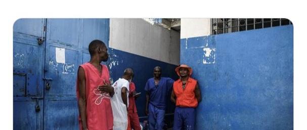 Dans les prisons les détenus ne mangent pas à leur faim et certains tombent malades