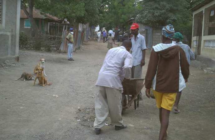 Des Port-au-Princiens lancent une vaste opération de nettoyage