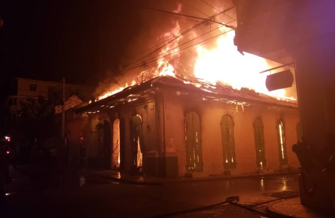 Nord-Incendie: les locaux de l'ONI, du BED et du BEC en feu