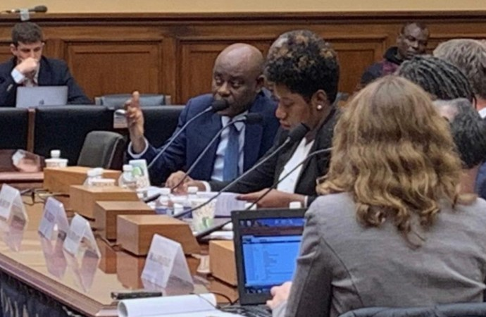 Devant le Congrès américain, Pierre espérance et Emmanuela Douyon critiquent l'administration de Jovenel Moïse