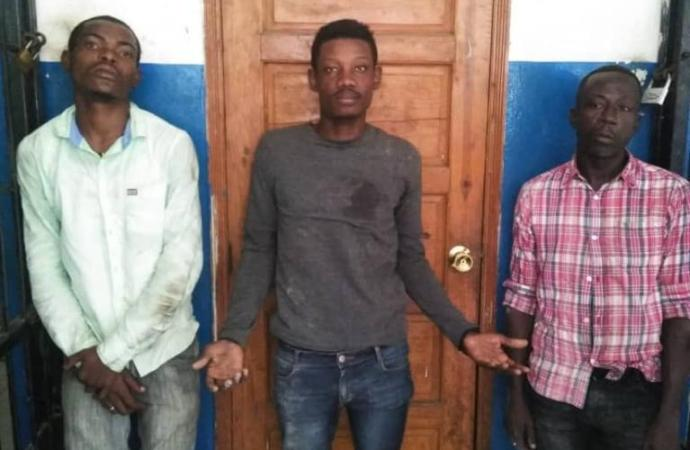 Haïti-Sécurité: 3 individus arrêtés en possession d'armes à feu