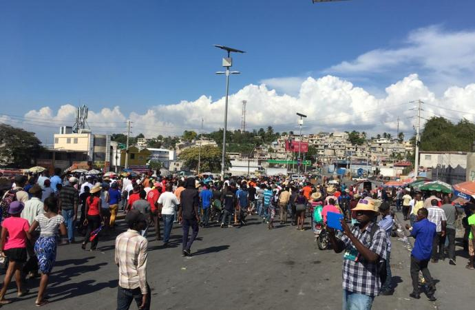 Visite de David Hale en Haïti: l'opposition n'a pas réuni la foule escomptée