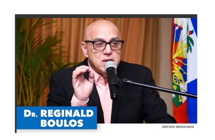 Fossoyeur du pouvoir, Réginald Boulos demande à l'opposition de dialoguer avec Jovenel Moïse