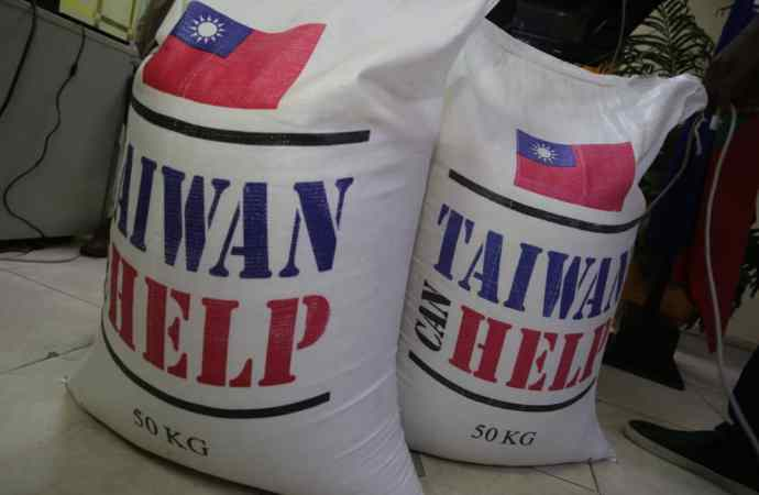 Haïti reçoit 2200 tonnes de riz du gouvernement taïwanais