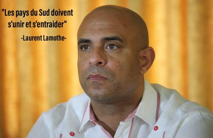 Laurent Lamothe : Les pays du Sud doivent prioriser des partenariats entre eux et la technologie pour relever les défis communs