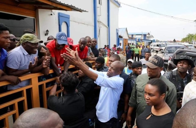 Jovenel Moïse au Cap-Haïtien pour participer au carnaval