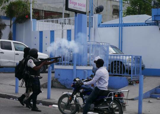 SPNH: Des policiers sèment la pagaille dans les rues