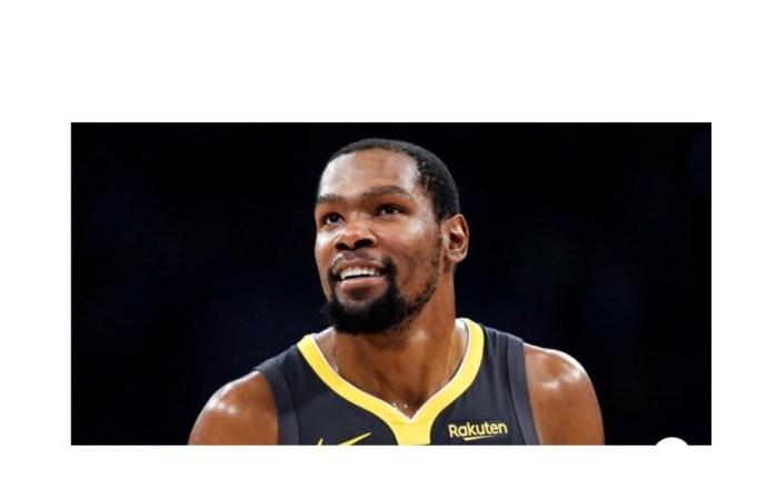 Le basketteur Kevin Durant contracte le coronavirus