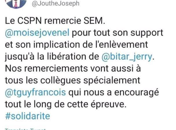 Entre crétinisme et confusion : le Premier ministre Joseph Jouthe, la risée des internautes