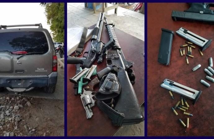 Port-de-Paix : arrestation de cinq individus illégalement armés