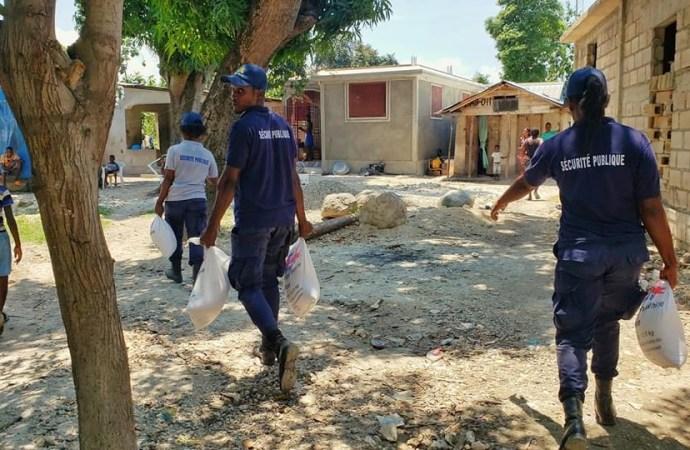 Coronavirus: L'aide alimentaire touche la commune de Léogâne