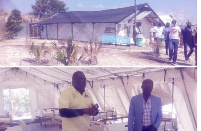 Gonaïves-Coronavirus: lancement des points de  dépistage et de quarantaine
