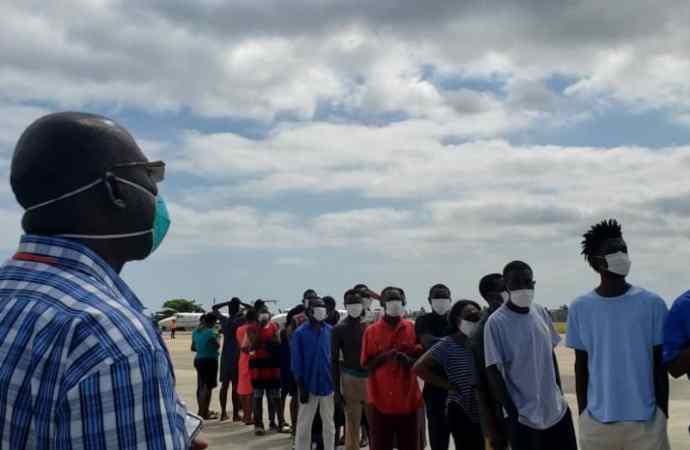 Coronavirus : plus de 150 Haïtiens rapatriés des îles Turks and Caicos