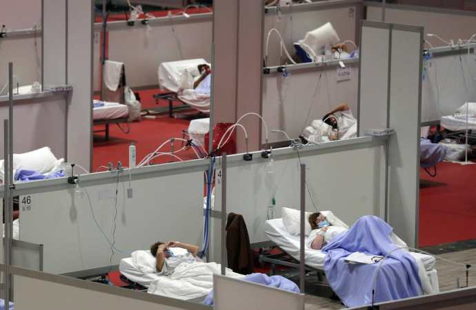 Coronavirus-Italie: Baisse considérable des malades du covid-19 en soins intensif