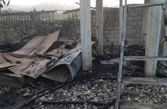 Covid-19 : incendie d'un centre de prise en charge à Jacmel