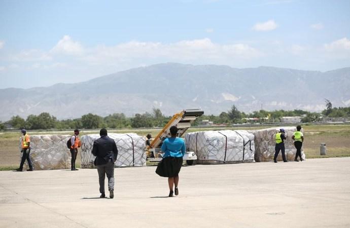 Coronavirus: une deuxième cargaison de matériels médicaux arrive en Haïti
