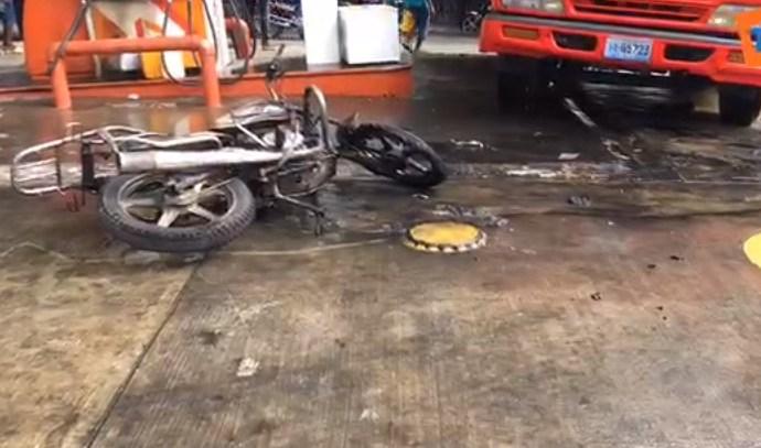 Accident à Pèlerin 2: Près d'une dizaine de motocyclettes incendiées