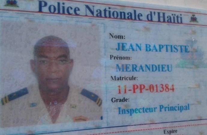 PNH-Décès : l'inspecteur Jean-Baptiste Meradieu s'est suicidé