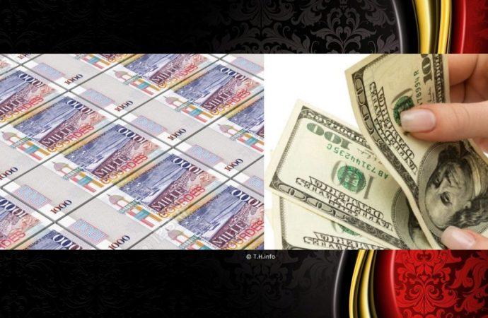 """""""Les transferts doivent être payés en gourde sauf si l'argent est déposé sur un compte en dollar"""", exige la BRH"""