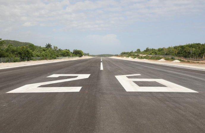 Grand-Anse: Inauguration d'un aérodrome standardisé