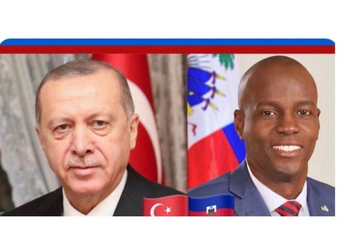 Haïti-Turquie : Jovenel Moïse s'entretient avec son homologue