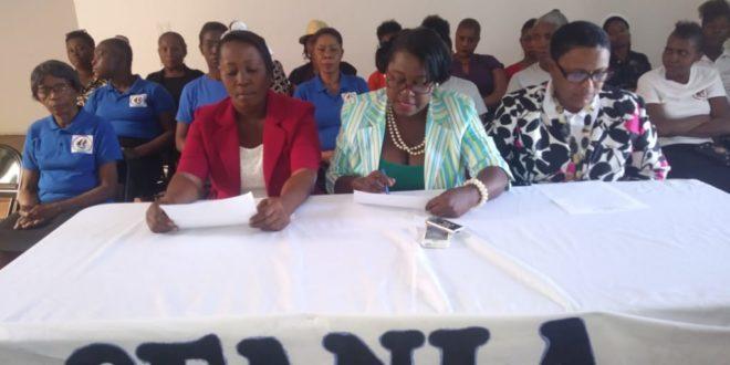 L'Organisation  des Femmes pour l'Avenir d'Haïti plaide en faveur de l'adoption d'une nouvelle Constitution