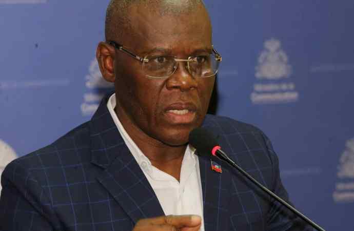 Le gouvernement ne délogera pas le palais de justice, déclare Joseph Jouthe