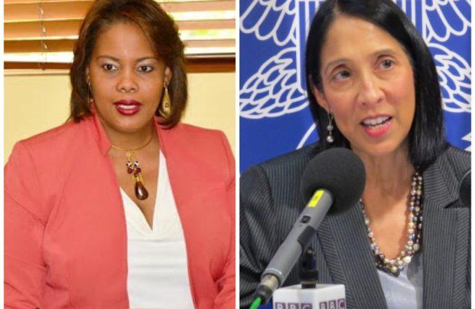 Droits humains : la ministre Jessy Menos et l'Ambassadeur Sison s'entretiennent