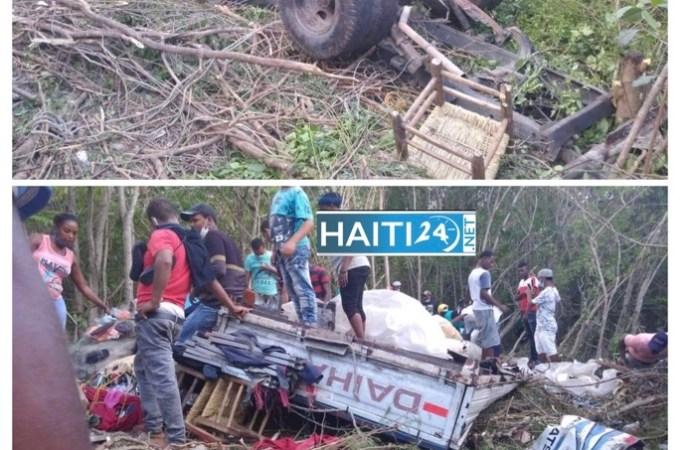 République Dominicaine : Cinq Haïtiens tués dans un accident de la circulation