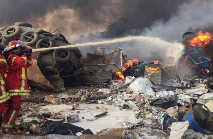 Double explosion d'origine inconnue fait des morts et des dizaines de blessés au Liban