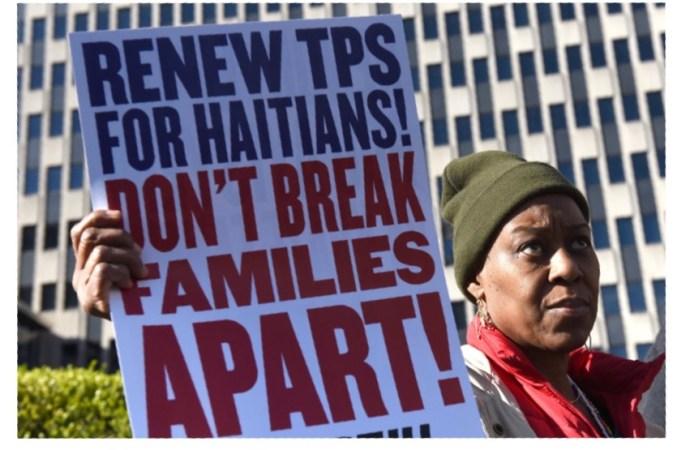 USA-TPS : Plus de 40 000 immigrants haïtiens menacés de déportation