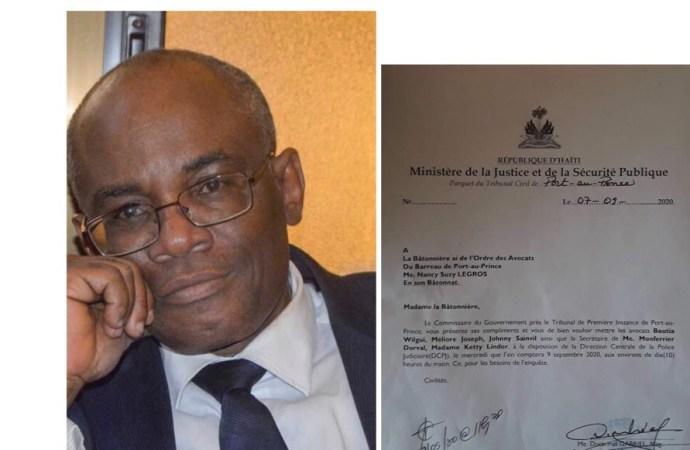 Assassinat de Me Dorval: Trois avocats sont invités à la DCPJ pour être auditionnés