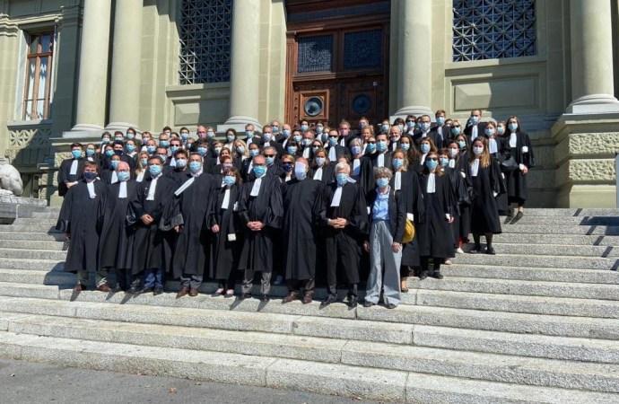 Le Barreau de Paris réclame justice pour des avocats, dont Monferrier Dorval