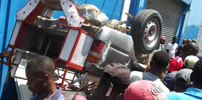 Un mort, plusieurs blesses, bilan d'un accident de circulation survenu à Pétion-Ville
