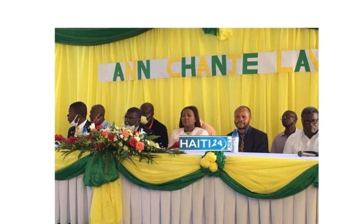 « Ann chanje lavi », le parti politique qui prône le vivre-ensemble