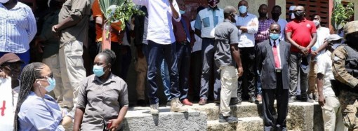 Jovenel Moïse inaugure le barrage Marion, « une promesse tenue »